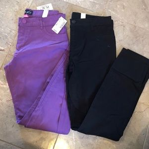 Little girls skinny jeans! Brand new